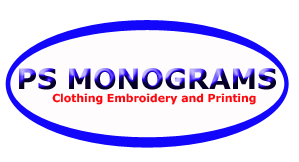 PS Monograms Embroidery and Printing